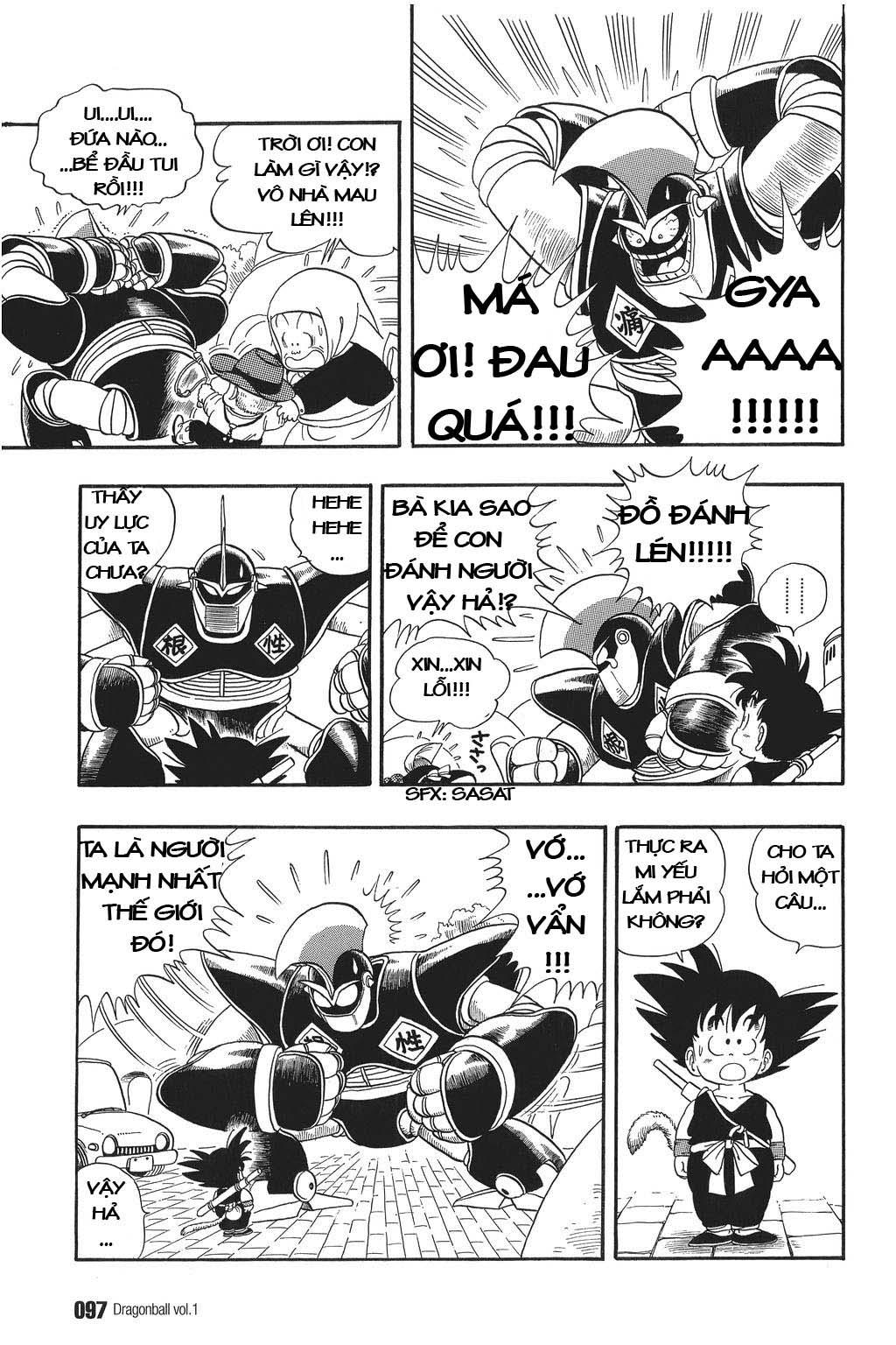 xem truyen moi - Dragon Ball Bản Vip - Bản Đẹp Nguyên Gốc Chap 6