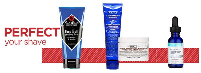 Jack Black Face Buff, Kiehl's Ultimate Brushless Shave Cream, H-61 Hydraboost