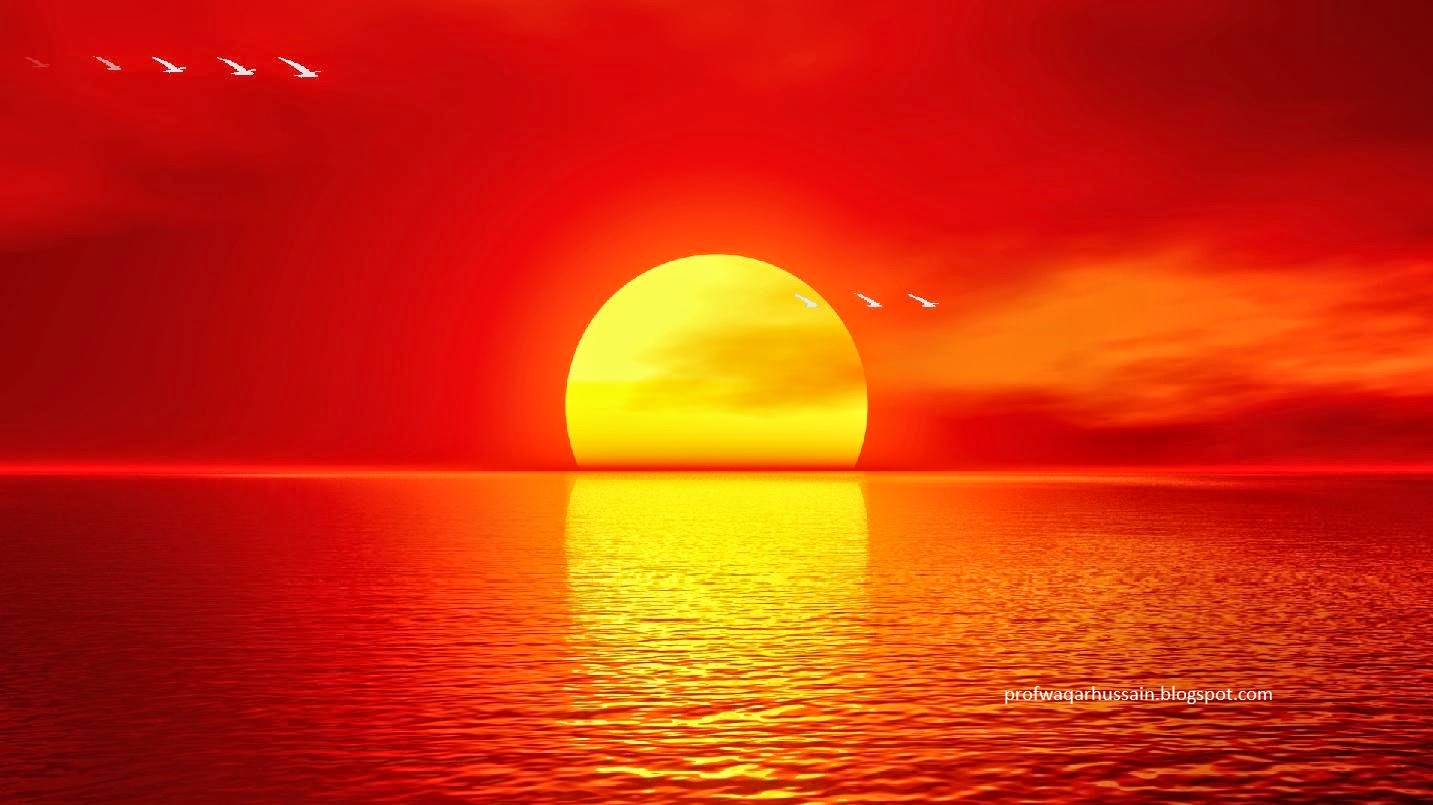 Why the sun gets red during sunset? Prof Waqar Hussain ...