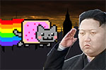 Nyan Cat My Hero free online game