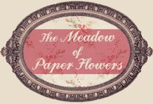 The meadow of paper flowers Fantástico blog sobre creatividad con papel