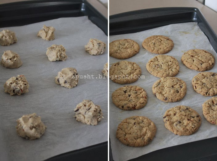 Just Drop Them Roughly With Enough Space For Them To Spread Without Sticking To Each Other You Should Be Able To Put 12 Cookie Dough Drops On The Sheet At