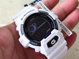 CASIO G-SHOCK WHITE GLOSSY ELEGANT GW8900-7F - TOUGH SOLAR - BRAND NEW