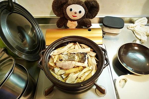 スズキの炊き込みご飯の作り方(4)