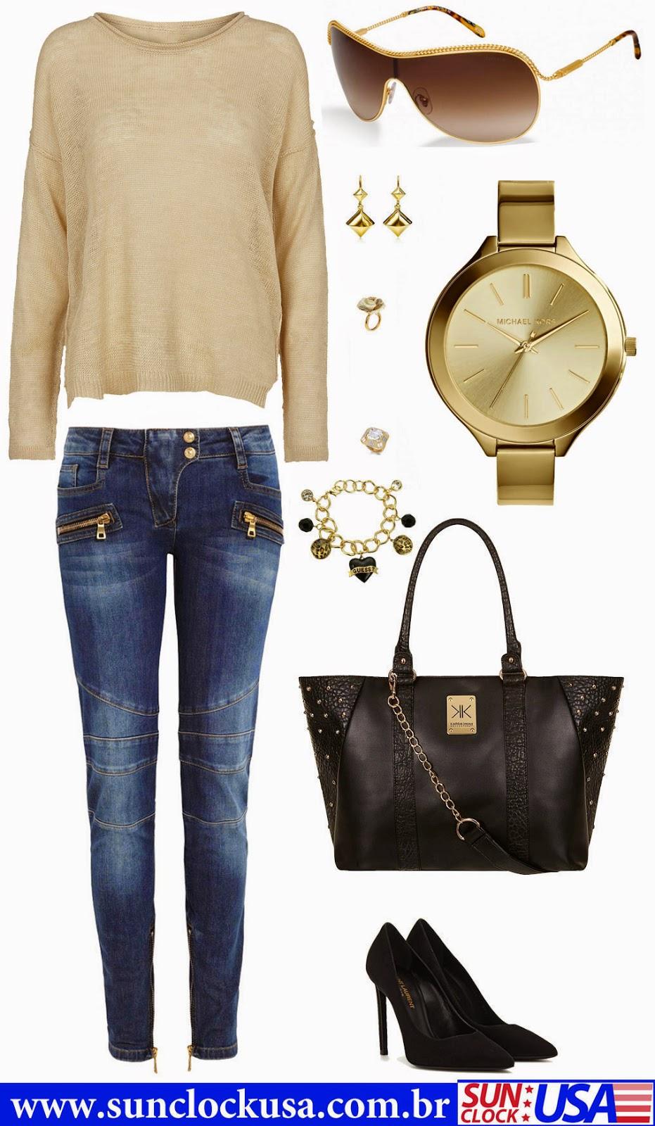 Relógios Michael Kors  e Óculos Tiffany & Co.