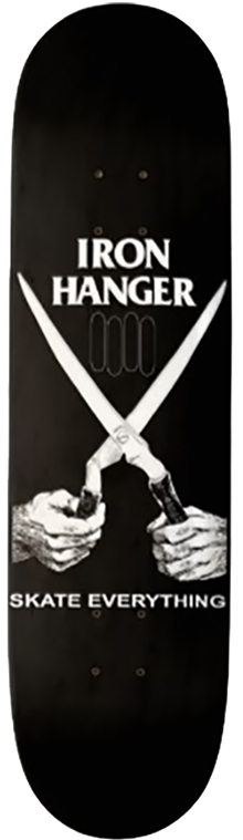 ironxhanger x black flag ©