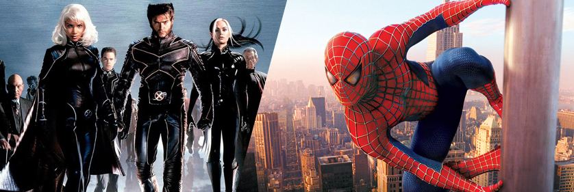 X-Men & Spiderman
