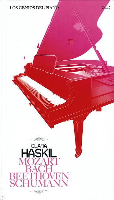 Imagen de Colección Los Genios del Piano-09-Clara Haskil & Mozart, Bach, Beethoven y Schumann