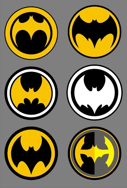 batman logos fanart