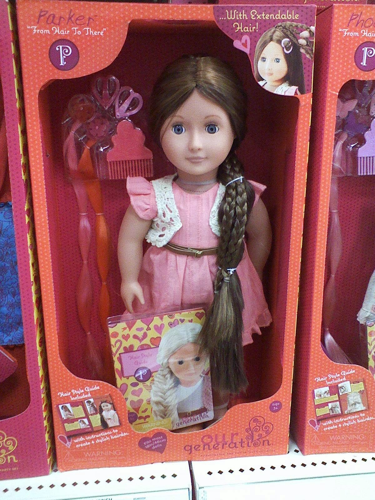 Living A Dolls Life Our Generation Hair Extensions