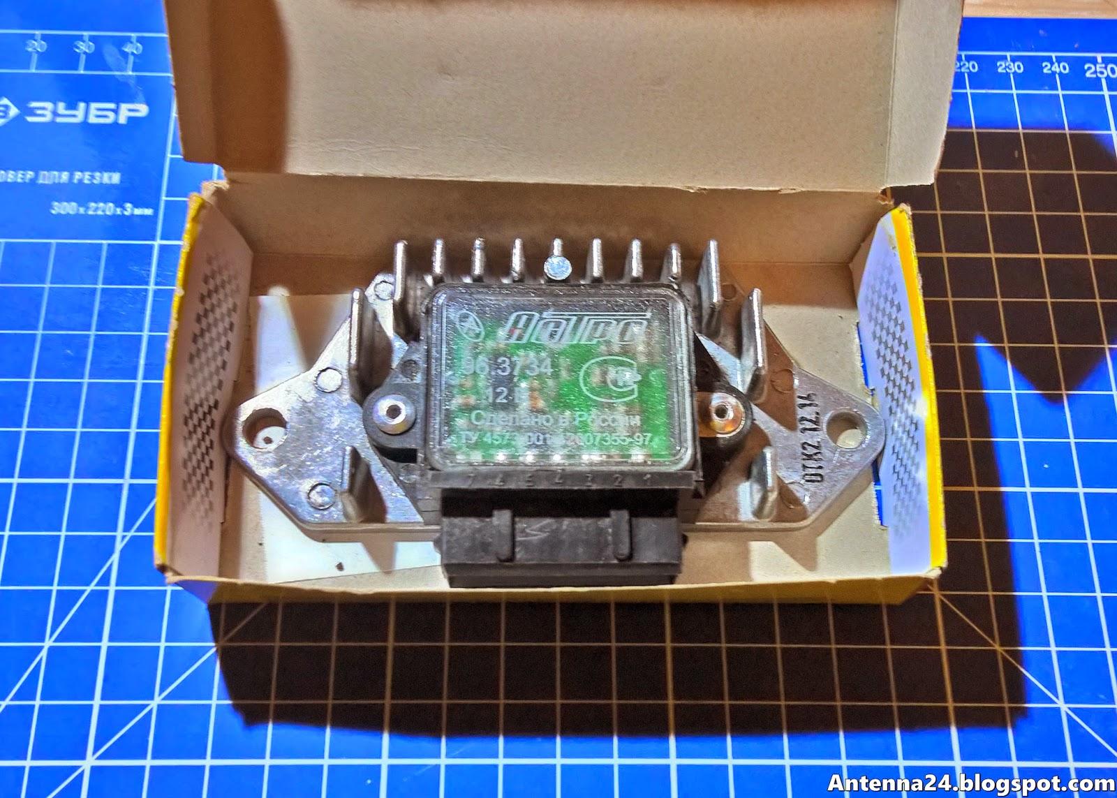 электро схема коммутатара 2108