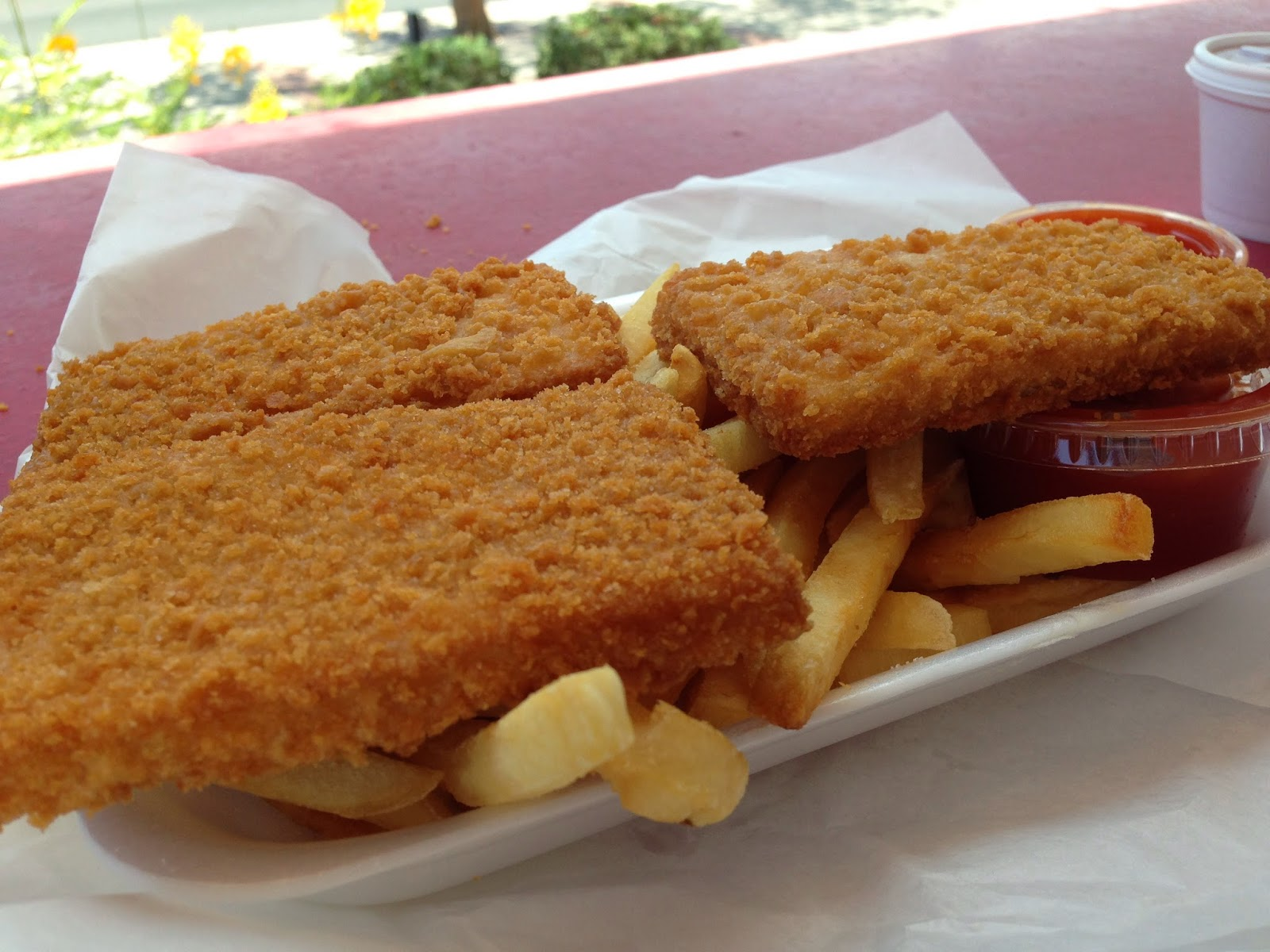 Diamonds in the rough for Petes fish and chips