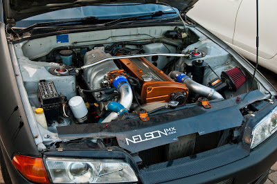 Nissan RB20DET Engine Upgraded Turbo