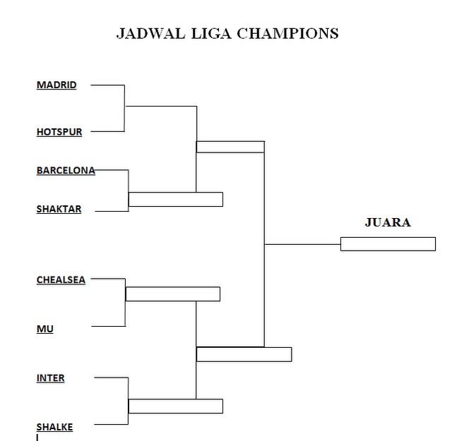 Jadwal Liga Champion Barcelona Vs Tottenham