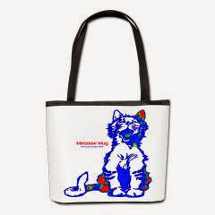 Funny Hello Meoow Bucket Bag