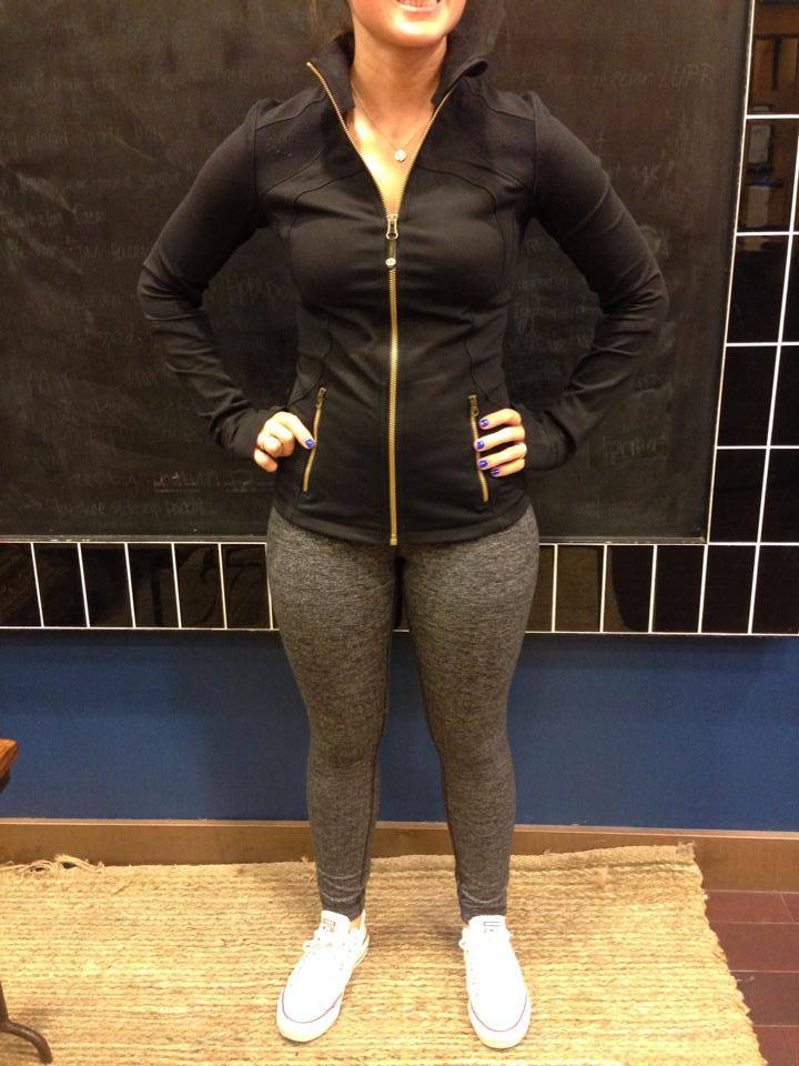lululemon laser cut forme jacket