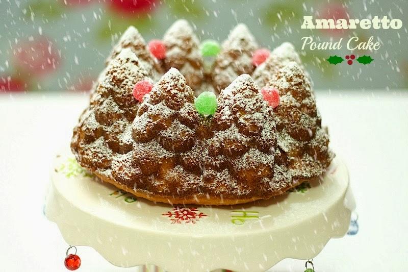 Amaretto Pound Cake - Las delicias del buen vivir
