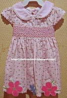 HT Pink Smocking Dress