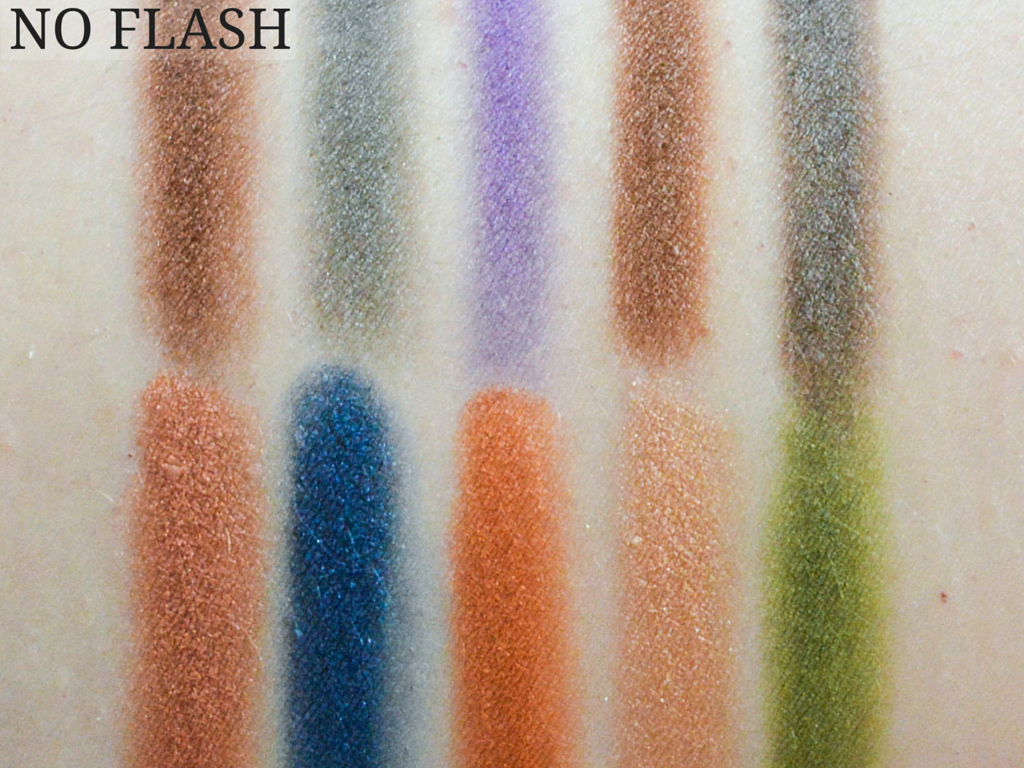 Neve Cosmetics Makeup Delight Eyeshadow Palette Swatches