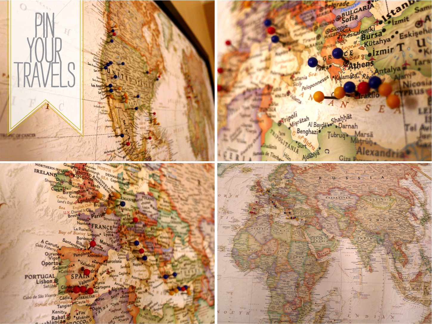 Travel Map Pins – Travel Maps With Pins