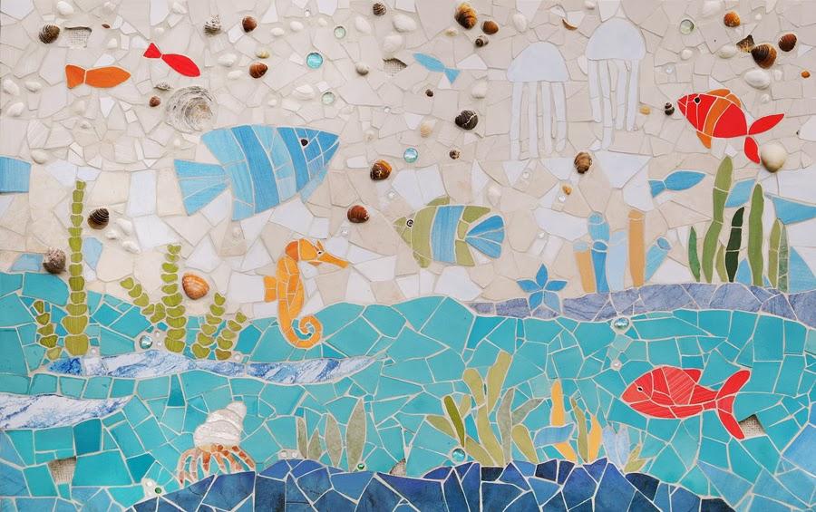 Środowe Inspiracje Magia mozaiki insprujące blogi handmade mozaika
