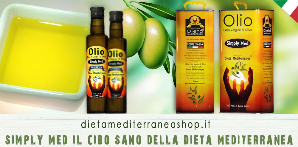 Olio Extra Vergine di Oliva Simply Med Dieta Mediterranea