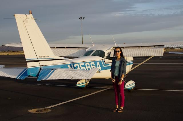 flight from chandler municipal airport