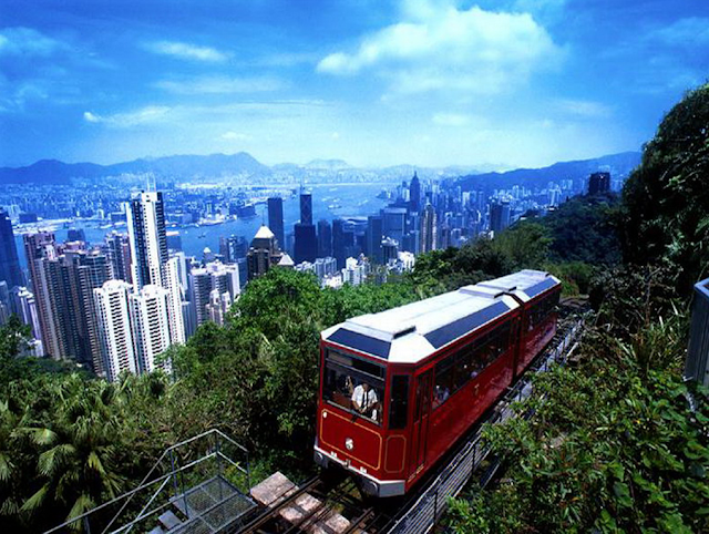 Train Station on the Victoria Peak