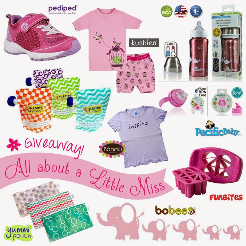 Win eco-girlie gear! Ends 7/18/14