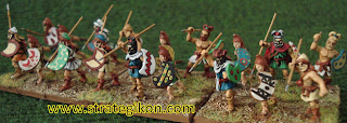 Thracian spearmen