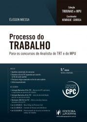 Baixar Processo do Trabalho: Para os Concursos de Analista do TRT e MPU 2016 – Élisson Miessa
