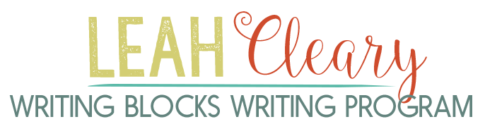 Writing Blocks Writing Program