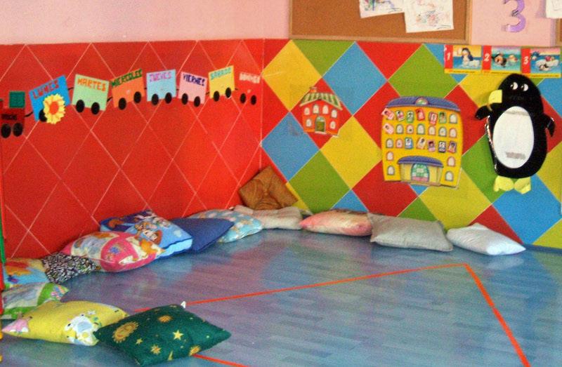 Organizaci n alicia y marta distribuci n del aula por for El rincon de la lectura