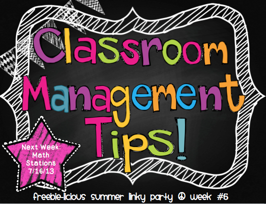 Classroom Management Ideas : Rock and teach classroom management tips linky