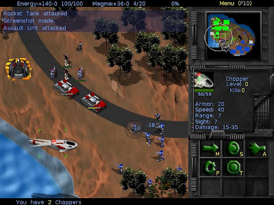 bos wars rts game linux