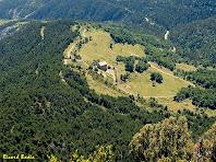 El Quer tot baixant de la Roca Tiraval. Autor: Ricard Badia