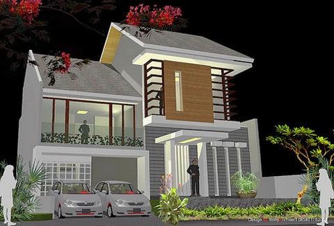 Gambar Design Rumah Minimalis Tropis Modern