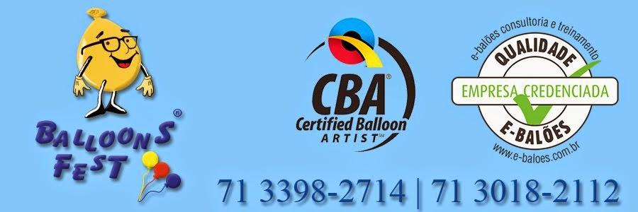 Balloons Fest decorações com balões em Salvador
