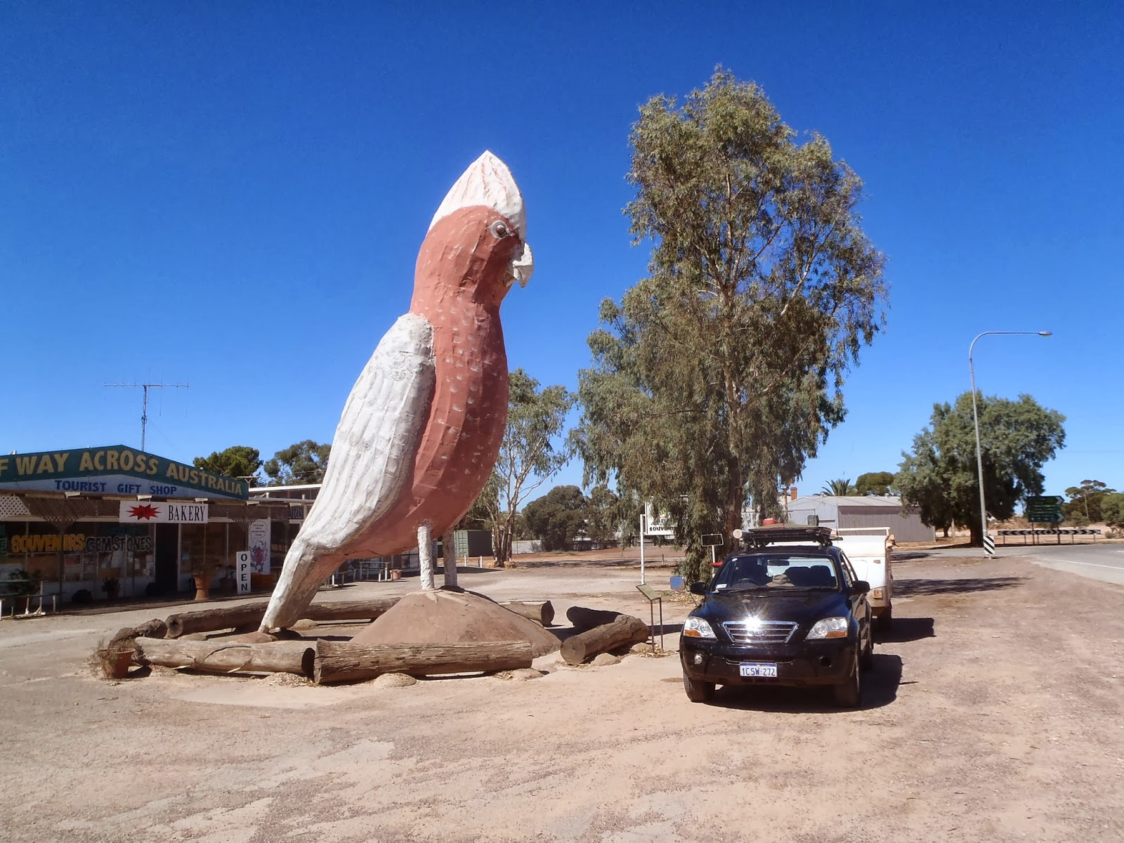 Wilmington Australia  city photos gallery : Stopped in Kimba for a break and a coffee, took the obligatory photo ...
