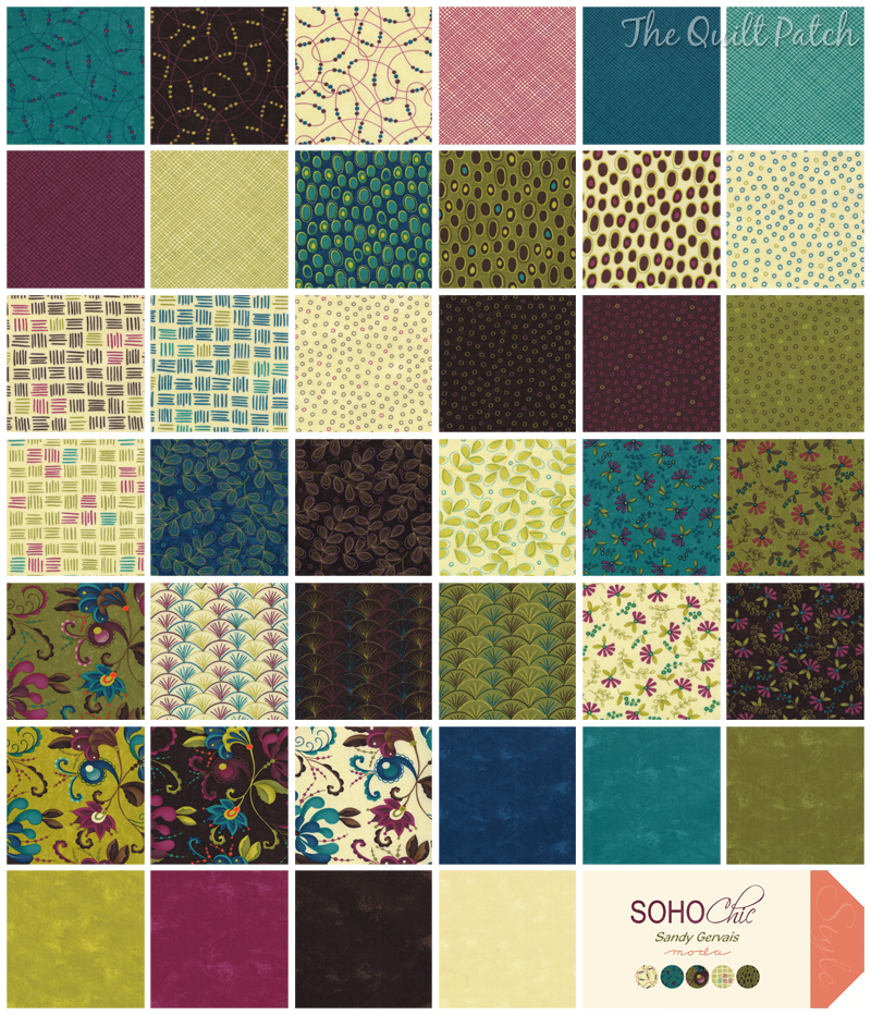 Moda SoHo Chic - Sandy Gervais -  The Quilt Patch