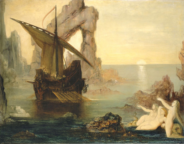 odysseus sirens moreau