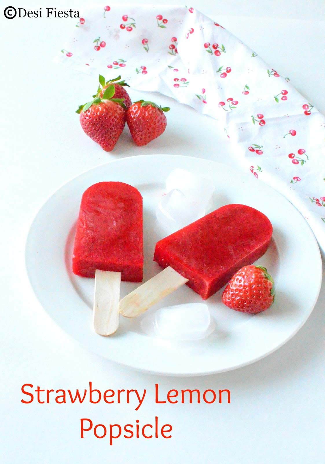 Red Popsicle Recipes