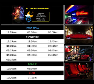 tgv star wars all night screening time schedule