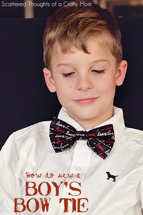 How to make a Boy's Bow Tie