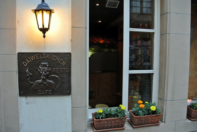 Restaurant Däiwelskichen Luxembourg ville