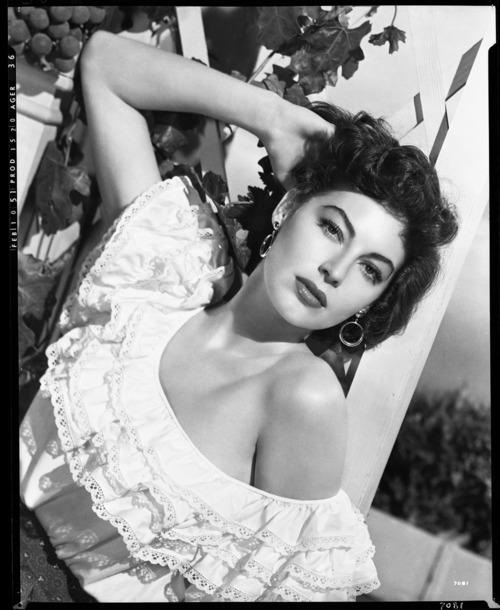 Clairemakeupstudio Beauty Icon Ava Gardner Inspired