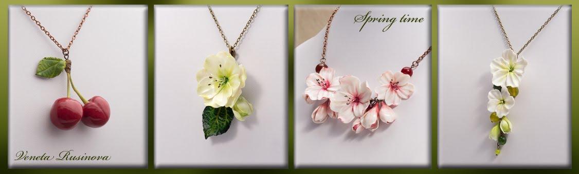 Veneta Rusinova's jewelry