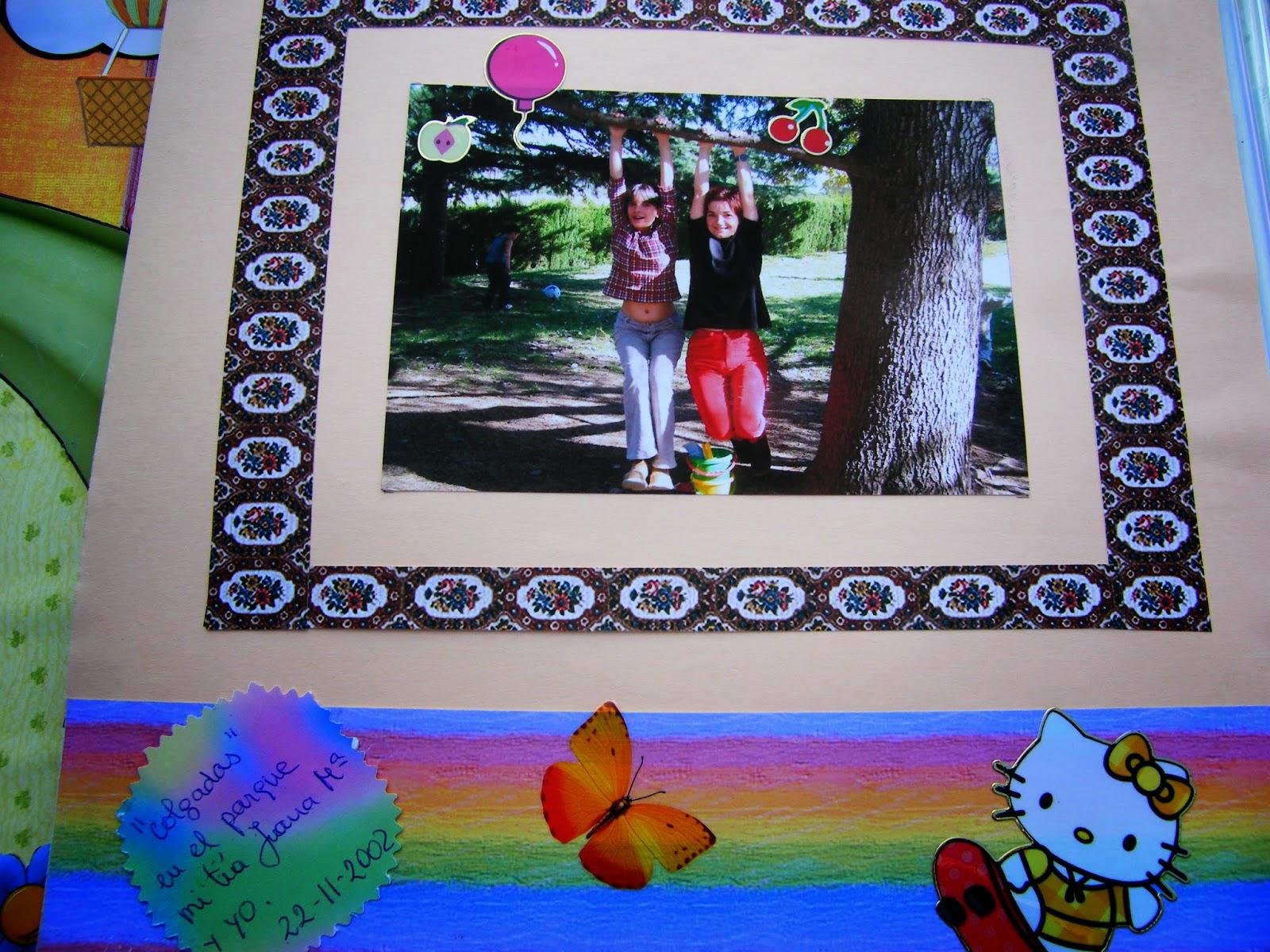 Hecho a mano por isabel album de fotos recortes de mi vida - Decoracion de album de fotos ...