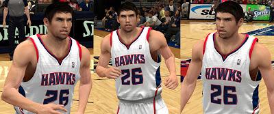 NBA 2K13 Mod Kyle Korver Cyberface