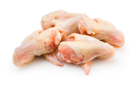 how to cook frozen raw chicken wings in the oven